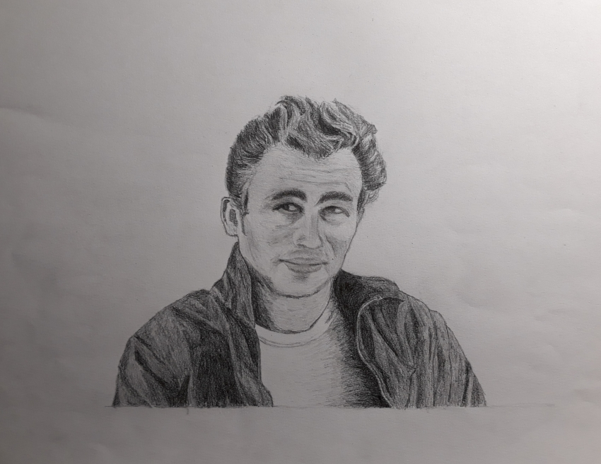 James Dean by supervale22